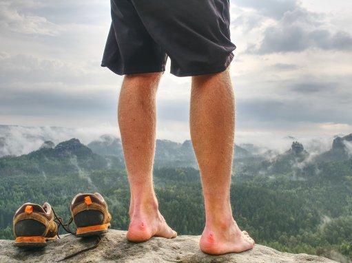 blog - Péče o nohy na pochodu